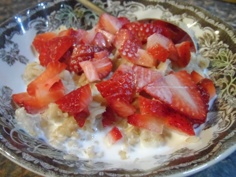Strawberry & Cream Oatmeal 2