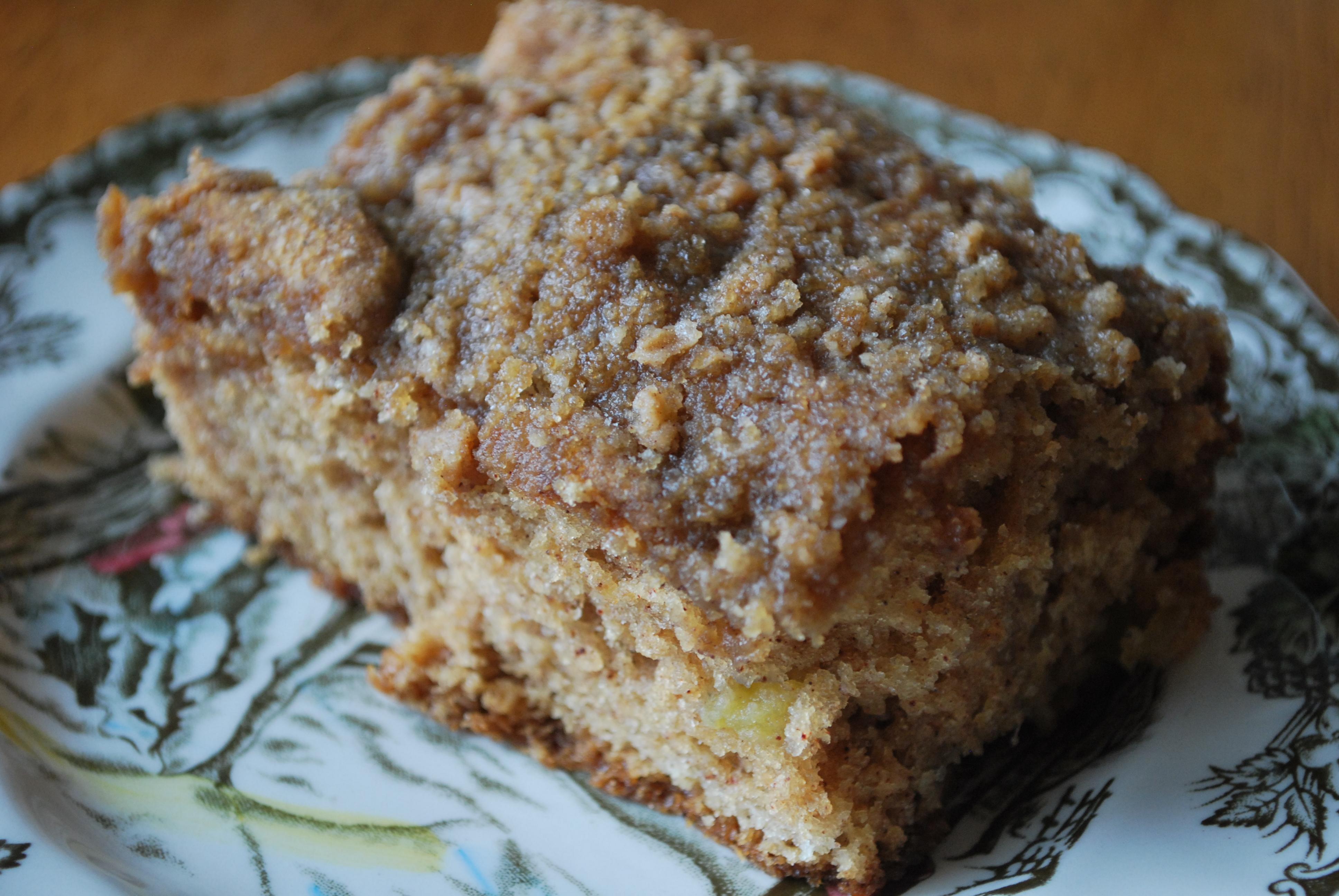 Emeril Lagasse Sour Cream Coffee Cake